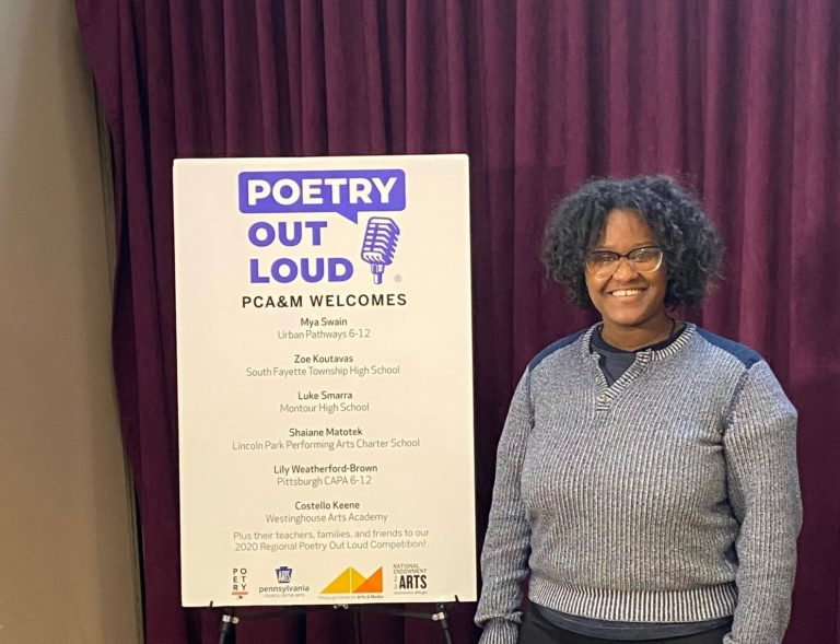Mya Swain Represents UPCS 6-12 Poetry Out Loud - image thumbnail