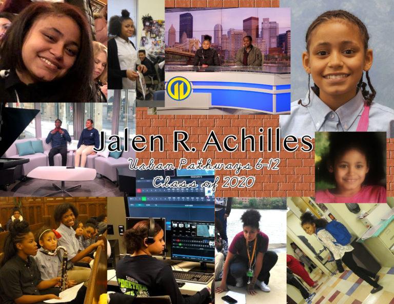 Celebrating Jalen Achilles - image thumbnail