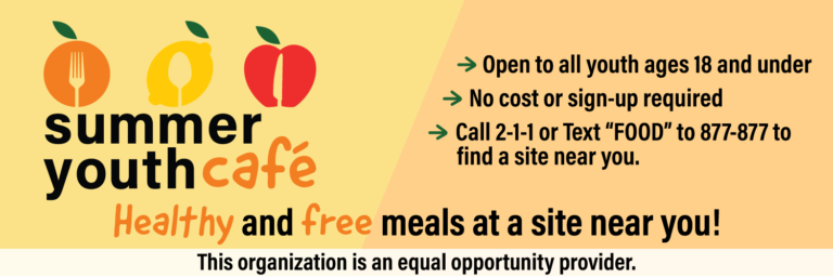 FREE summer meals are now available for kids and teens in your community! - image thumbnail
