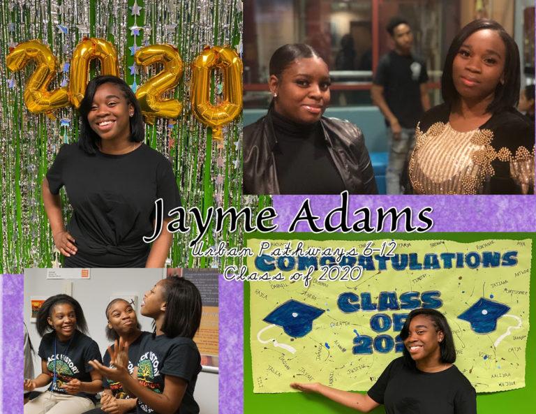 Celebrating Jayme Adams - image thumbnail