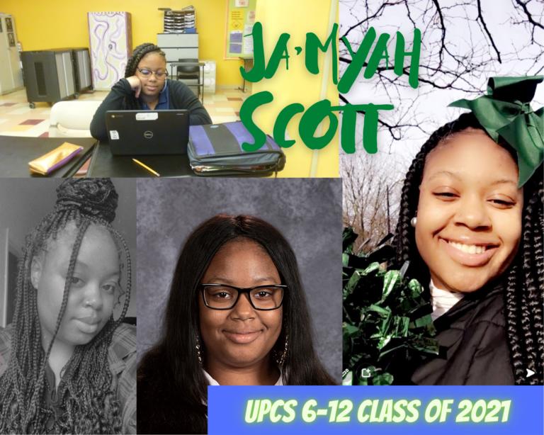 Senior Tribute – Ja'Myah Scott - image thumbnail