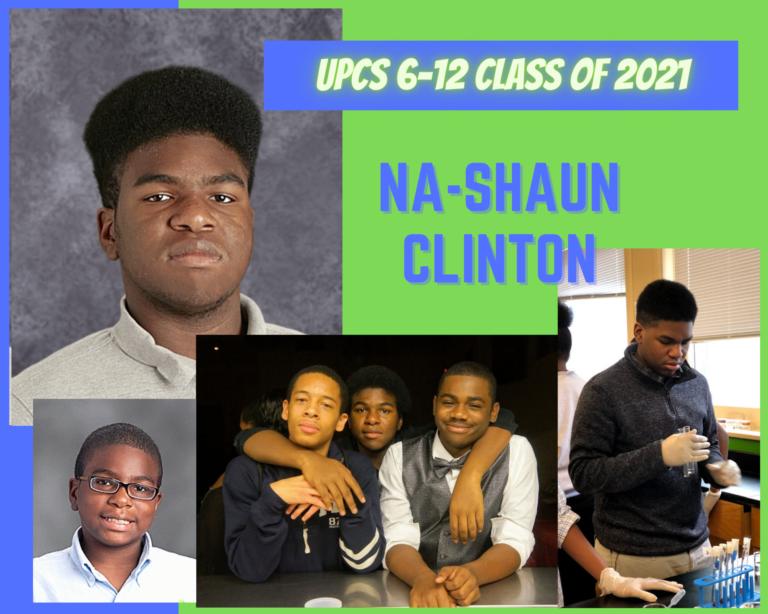 Senior Tribute – Na-Shaun Clinton - image thumbnail