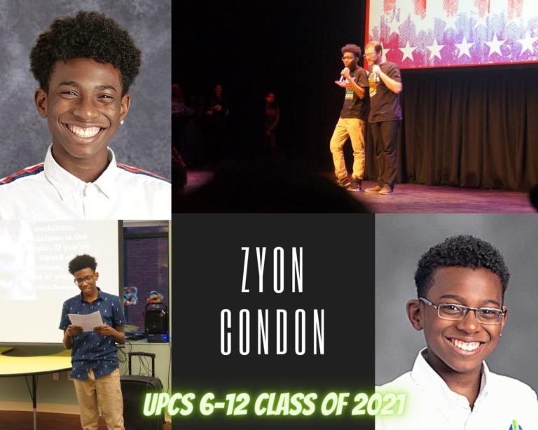 Senior Tribute – Zyon Condon - image thumbnail