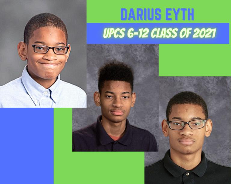 Senior Tribute – Darius Eyth - image thumbnail