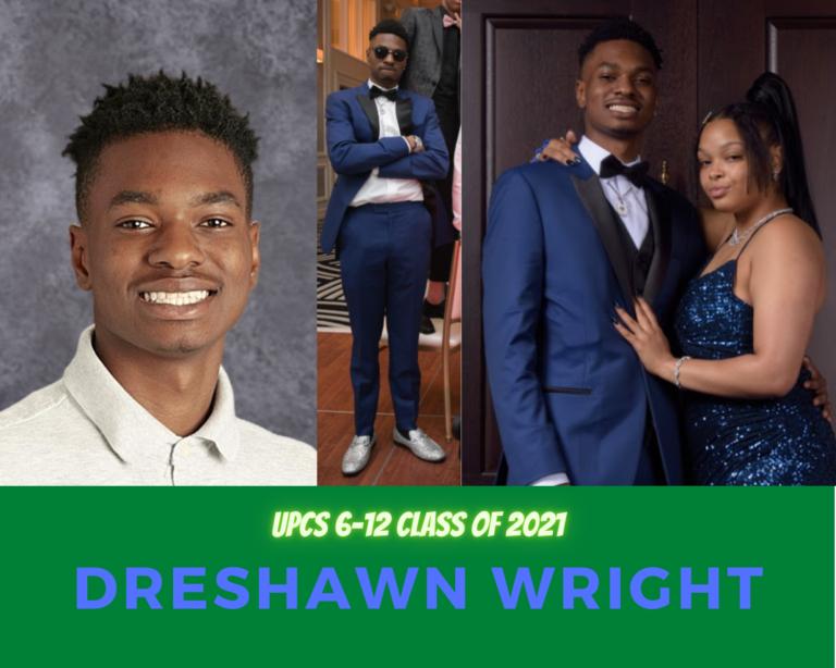 Senior Tribute – DreShawn Wright - image thumbnail
