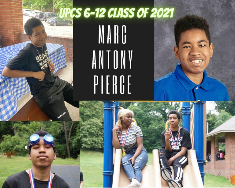 Senior Tribute – Marc Antony Pierce - image thumbnail