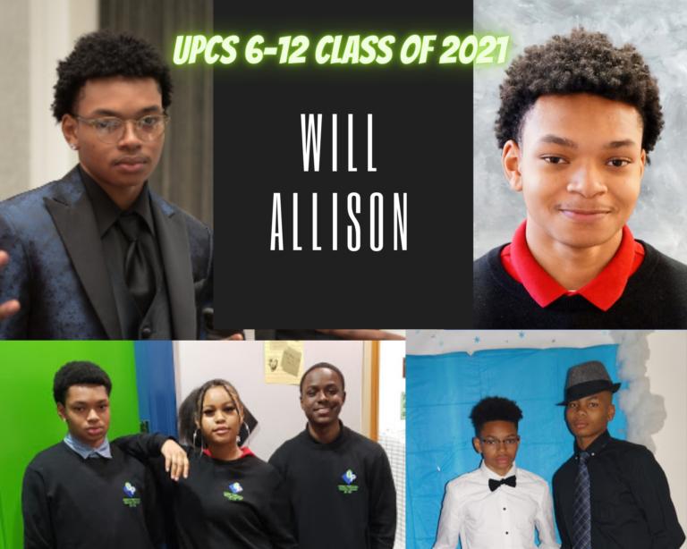 Senior Tribute – Will Allison - image thumbnail